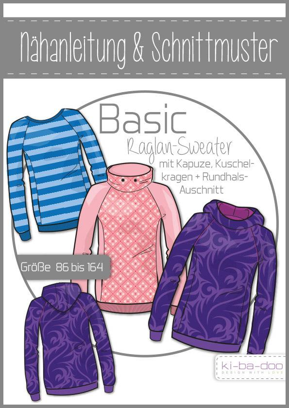 Basic Raglan-Sweater
