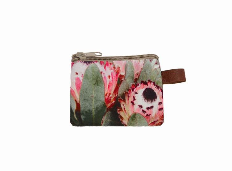 Cosmetic-Bag, Pink Flower