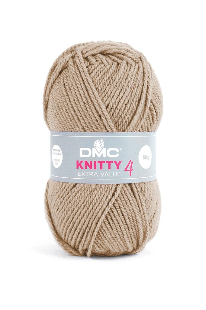 Knitty 4, Beige/Nature, 100% PC, 50g/140m