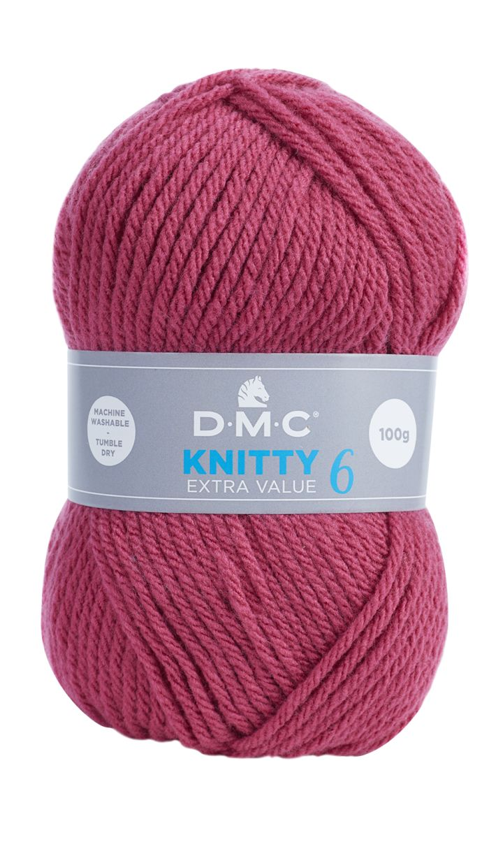Knitty 6, Beere, 100% PC, 100g/137m