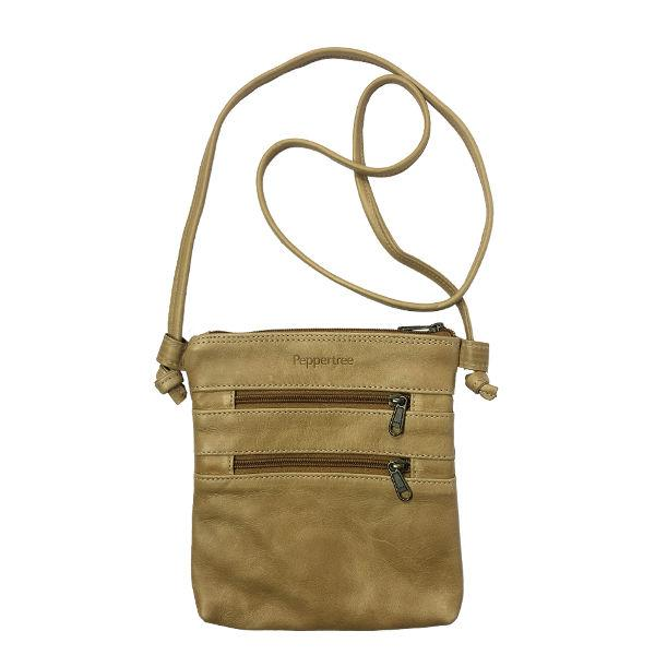 Knotted Bag Small, LEATHER HAZELNUT