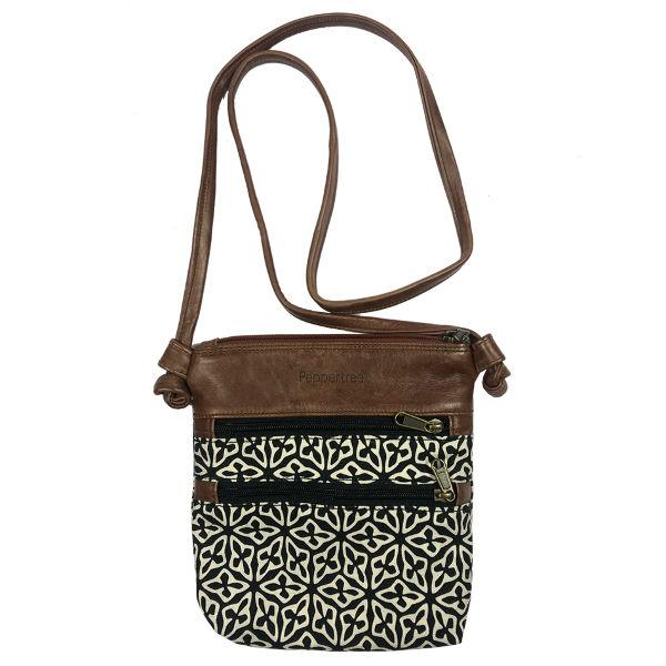 Knotted Bag Small, SEED BLACK