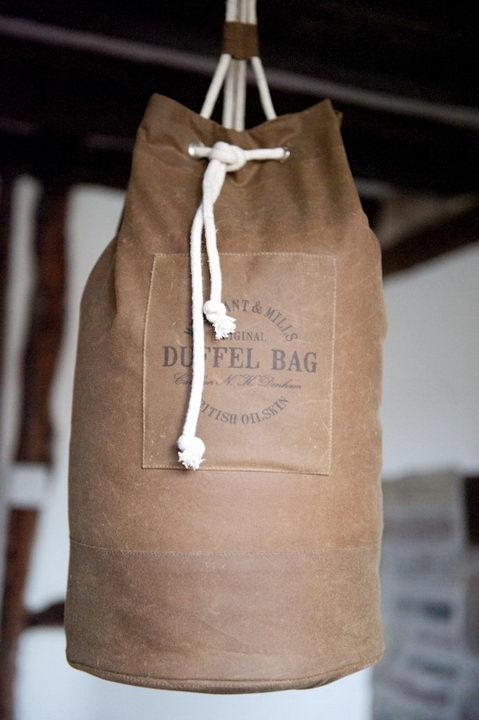 Oilskin Duffel Bag Kit
