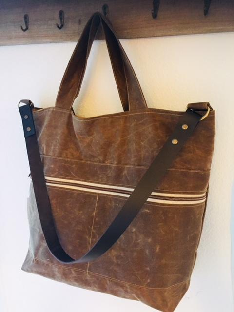 Shopper, Oilskin Antique