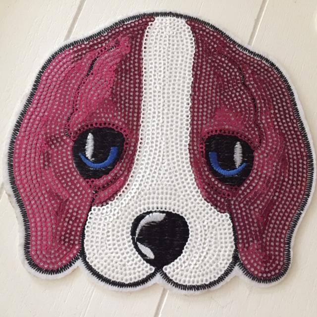 XXL Doggy Patch, Pink/Fuchsia