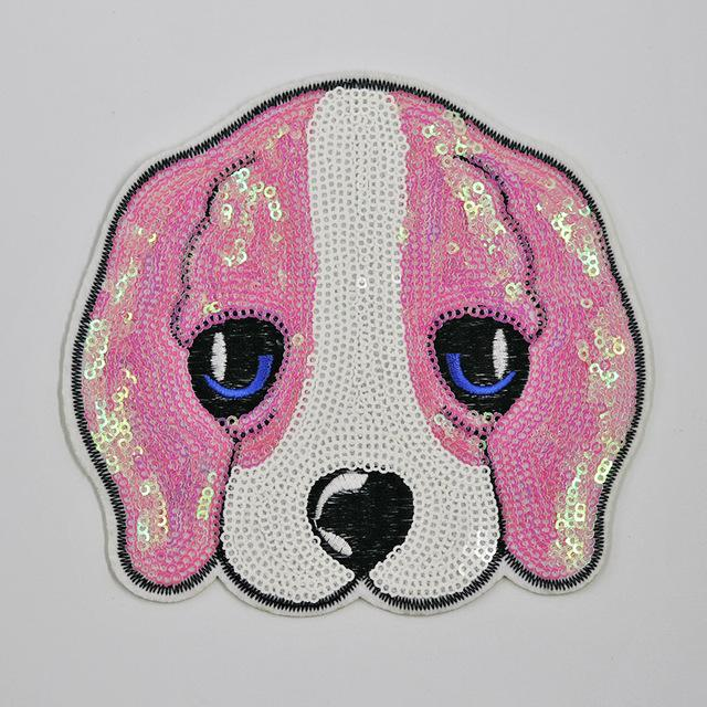 XXL Doggy Patch, Rosa